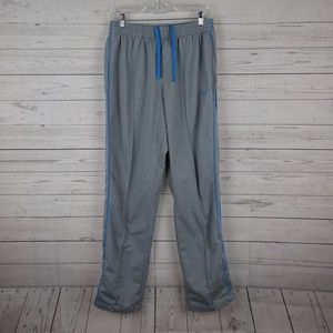 Nike drawstring grey and blue pants extra large